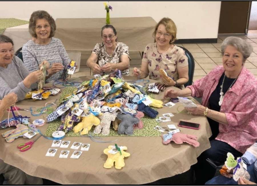 Heatherwood women make Gospel Bears