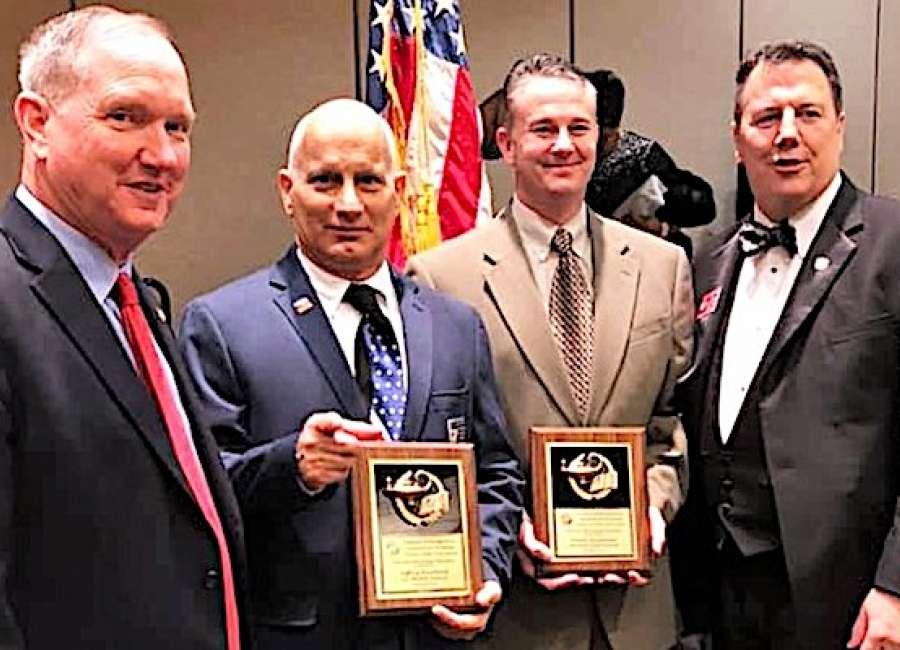 Henderson, Bouchard named Georgia VFW Teachers of the Year
