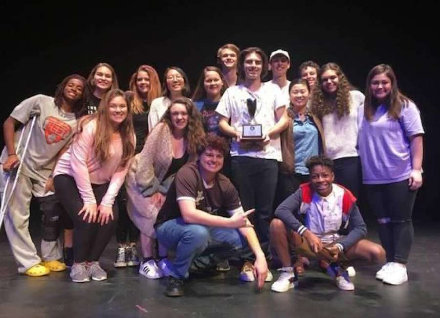 Heritage places second in GISA State One-Act Competition