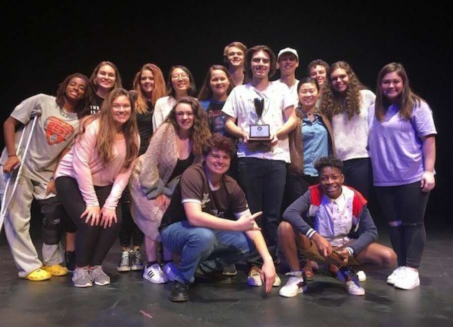 Heritage wins 2nd place at GISA Regional One-Act Competition