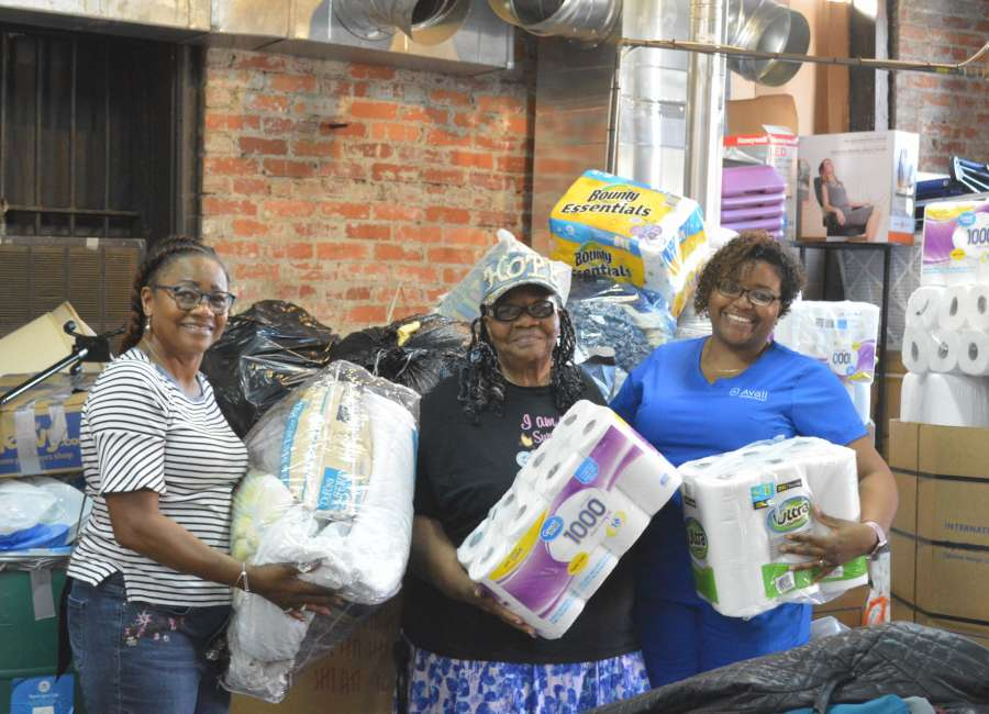 Hurricane relief donations accepted through Thursday