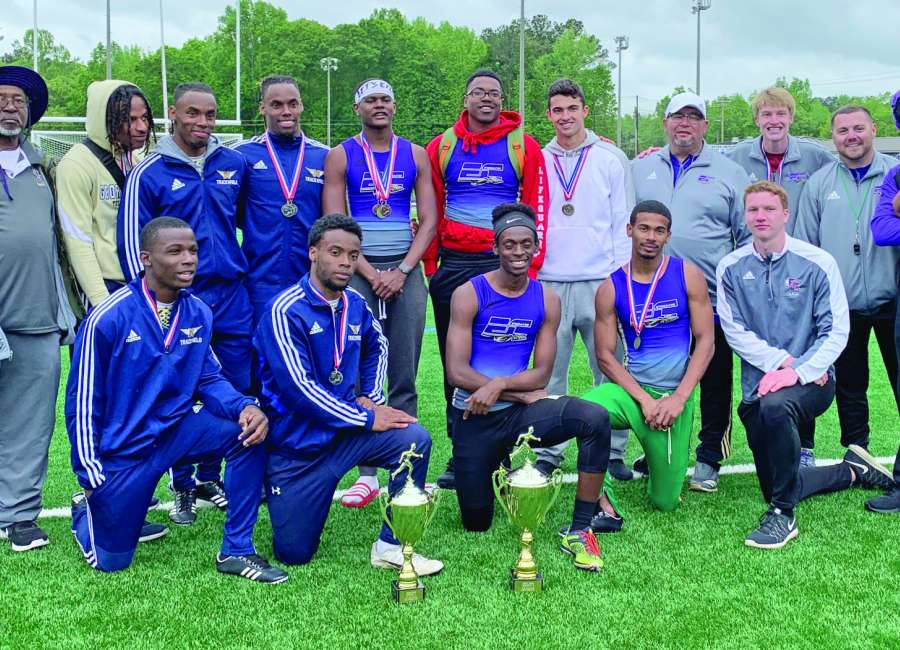 Indians capture 2-7A title; Cougars tie for 2nd