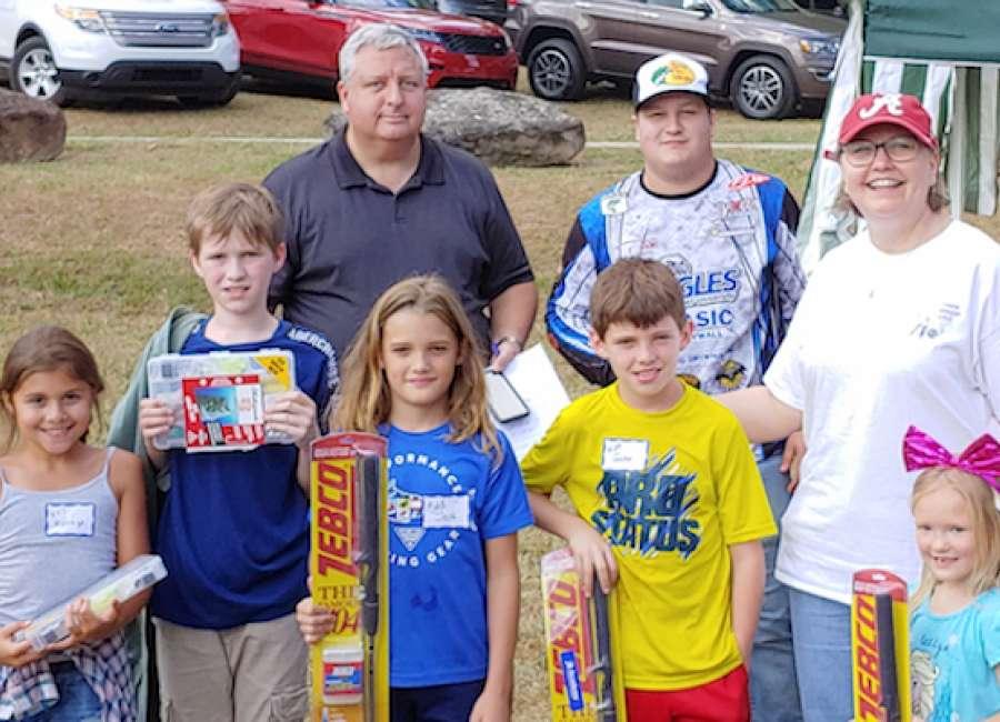 Kids Fishing Derby reels in 77 anglers