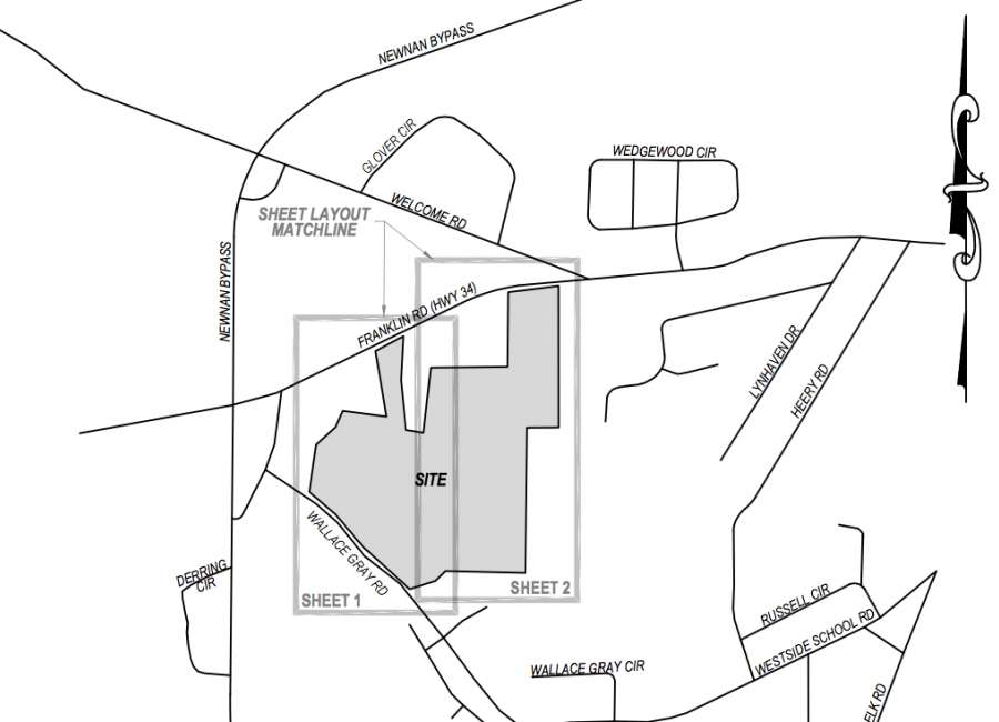 Large, dense subdivision headed for the westside