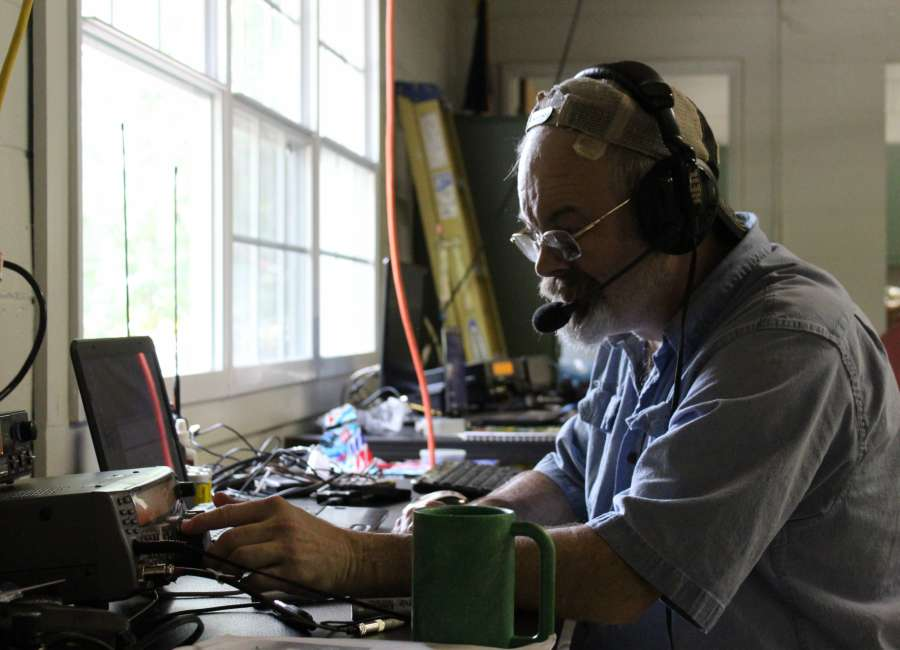 Local groups participate in Ham Radio Field Day