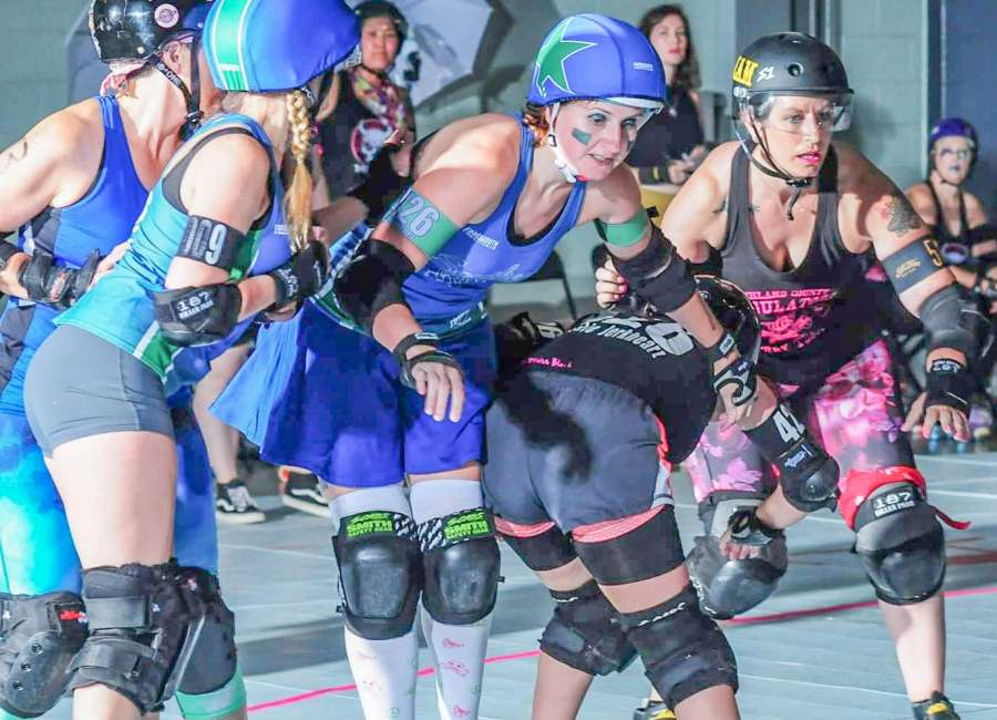 Local Roller Derby Team is in its 3rd Full Season