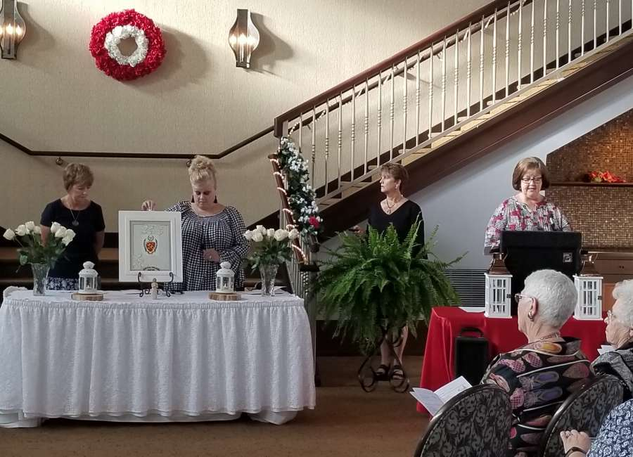 Local women take part in Jekyll ceremony