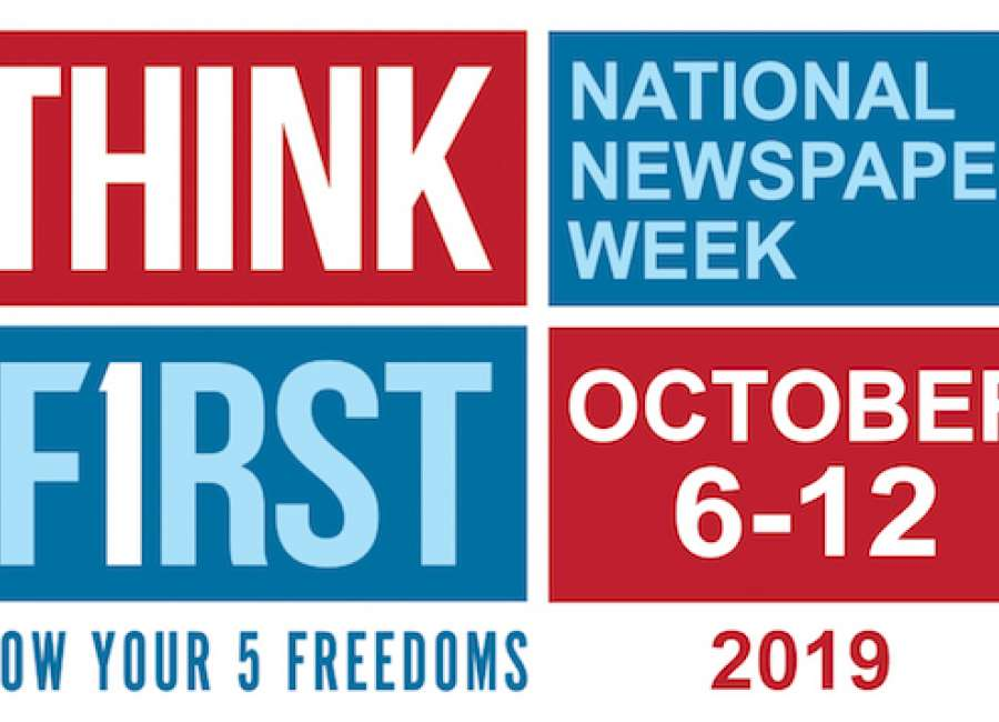 National Newspaper Week focuses on First Amendment freedoms