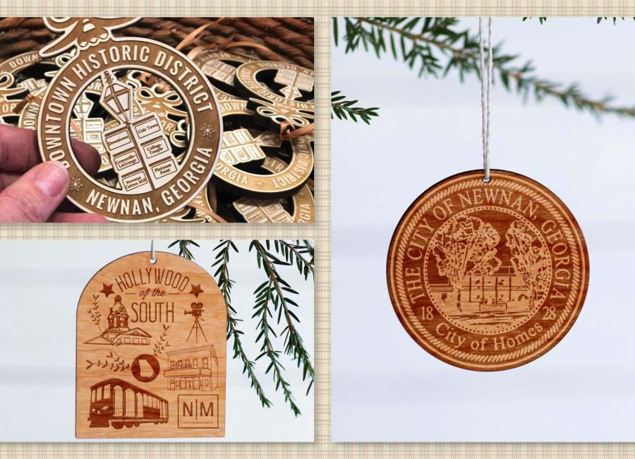 Coweta-centric ornaments on sale