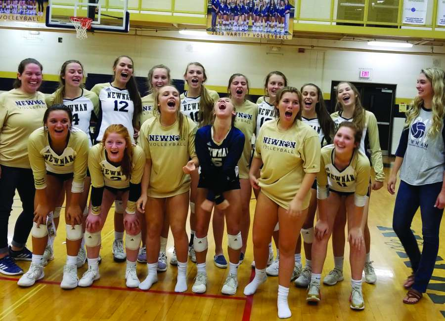 Newnan recaptures Coweta  County volleyball title
