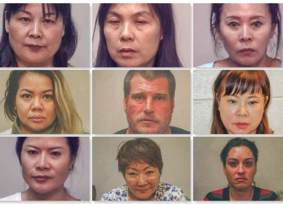 No Happy Endings In Massage Parlor Sting The Newnan Times Herald
