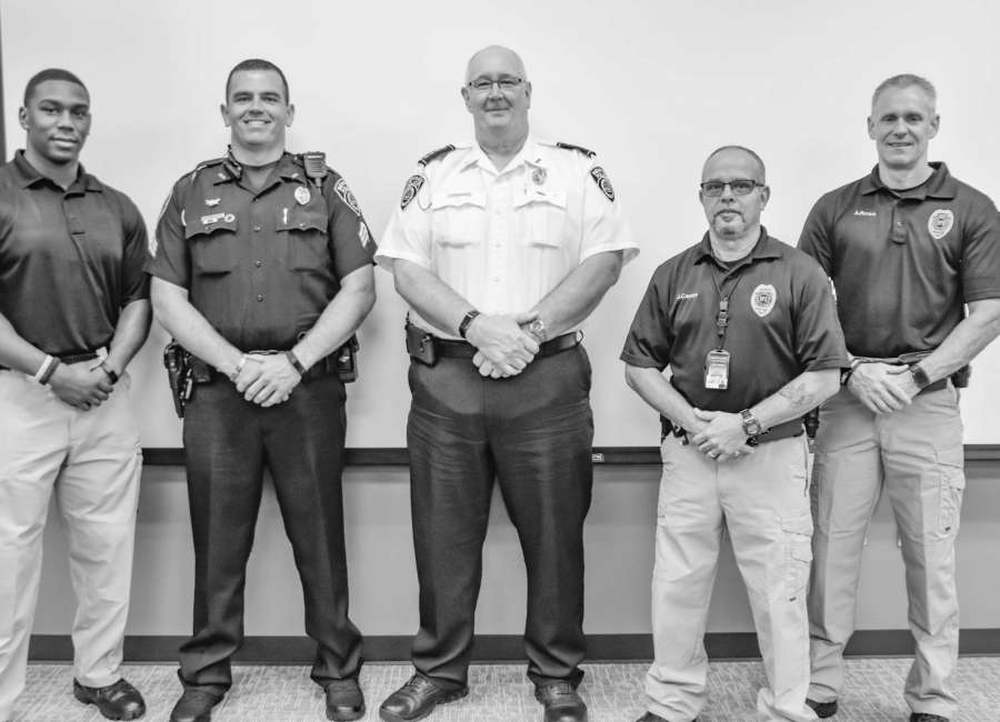 NPD officers recognized for rowing