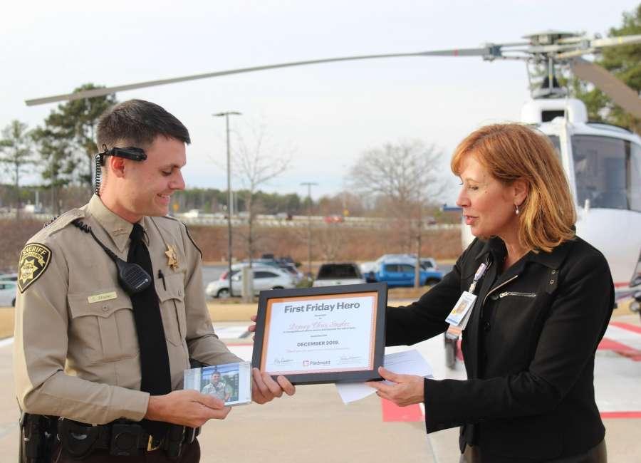 Piedmont Newnan Hospital recognizes CCSO deputy