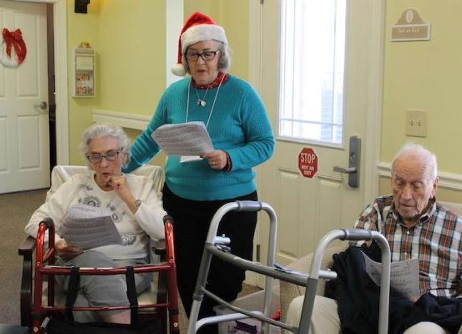 Rotary program brings joy to Alzheimer's and dementia patients