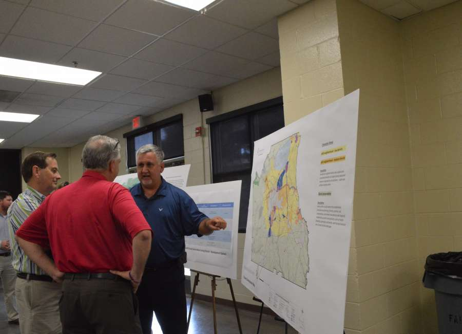 Rural preservation meeting held, 12-acre lots proposed