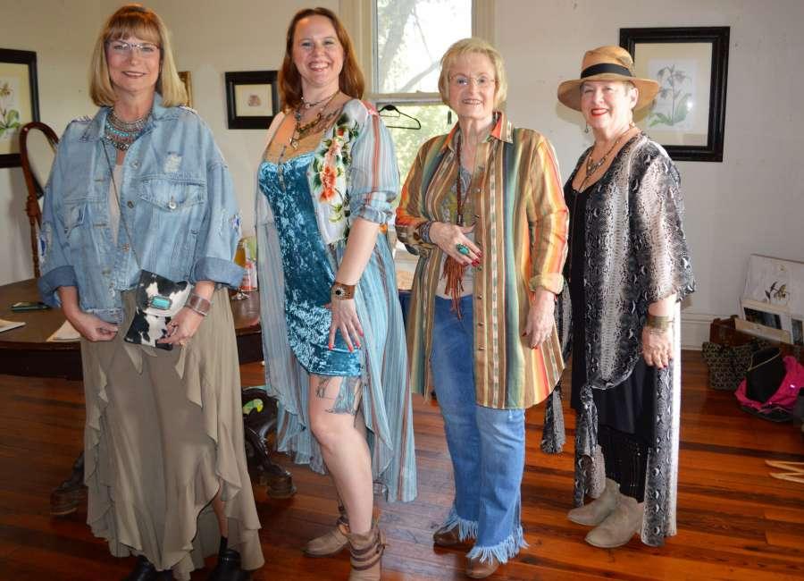 Senoia women's group holds Tea and Fashion show