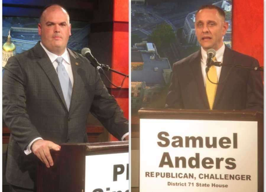Singleton, Anders seeking Stover seat