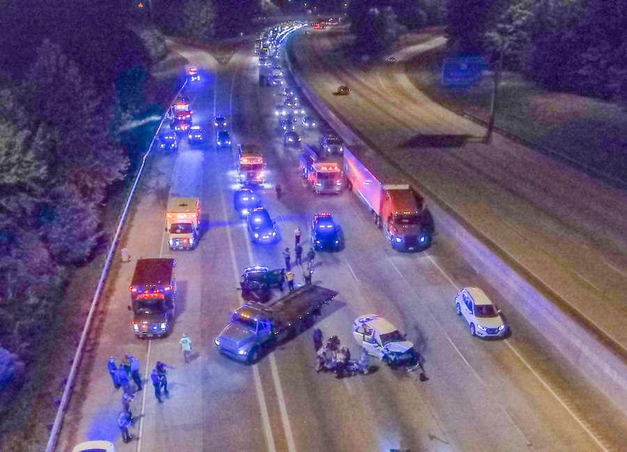 Stolen car pursuit ends with crash