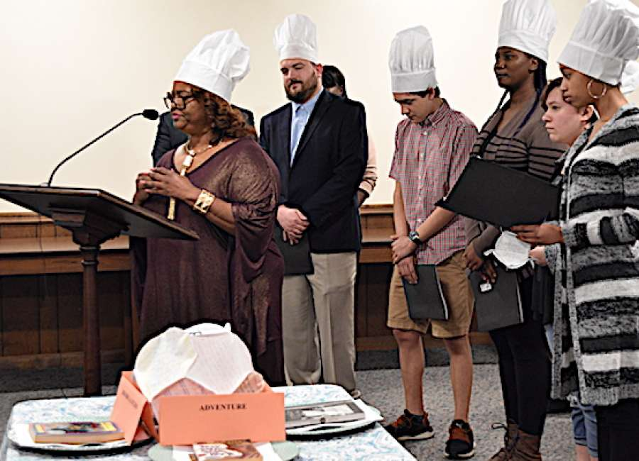 Students develop taste for literature at Arnall 'Book Cafe'