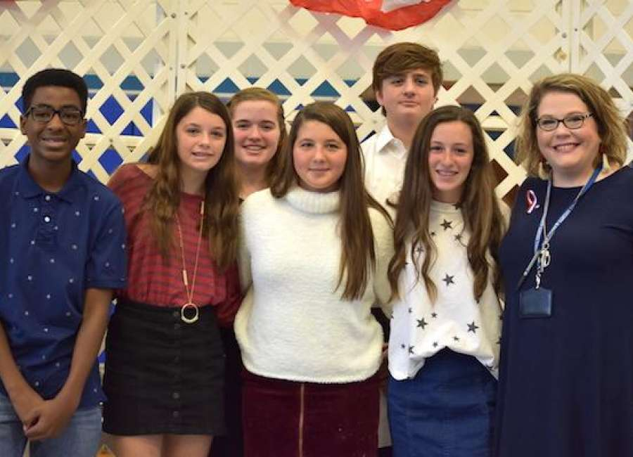 Students play key role in Arnall Veterans Day celebration