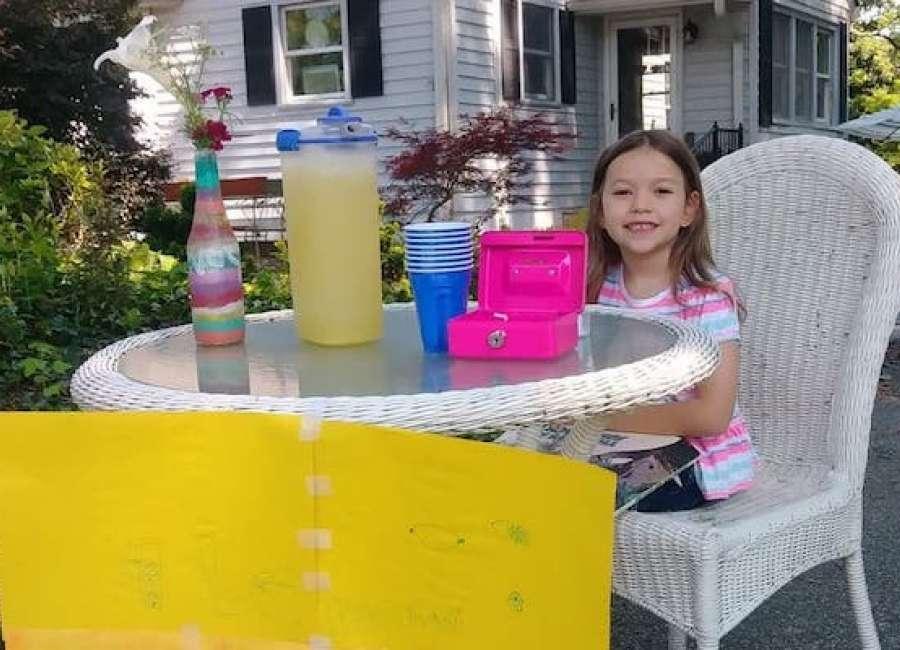 Summer means lemonade and books