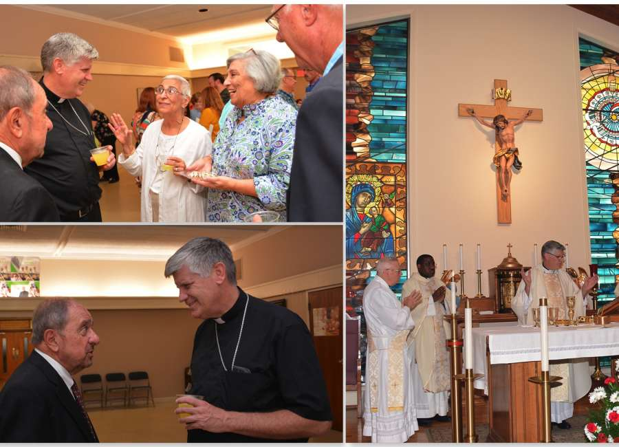 Thanksgiving Mass celebrates St. George's first 50 years