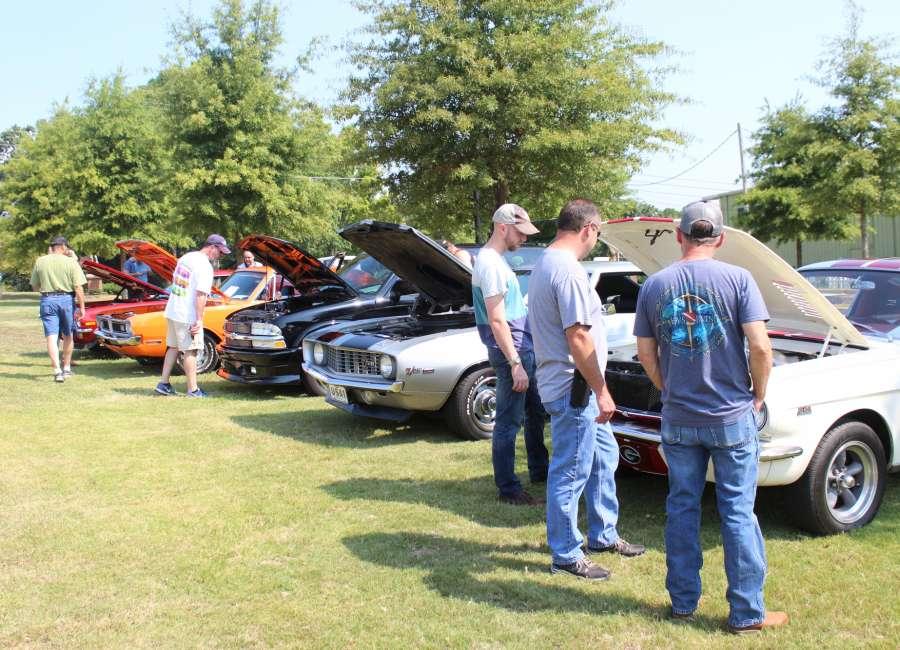 Third annual car show draws a crowd for NPD