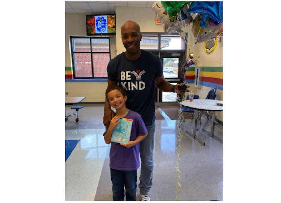 Third-grade author's book to be published