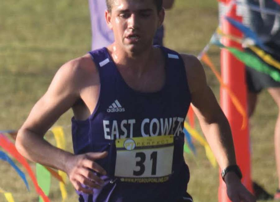 Three-peat: EC's Harkabus wins boys individual title