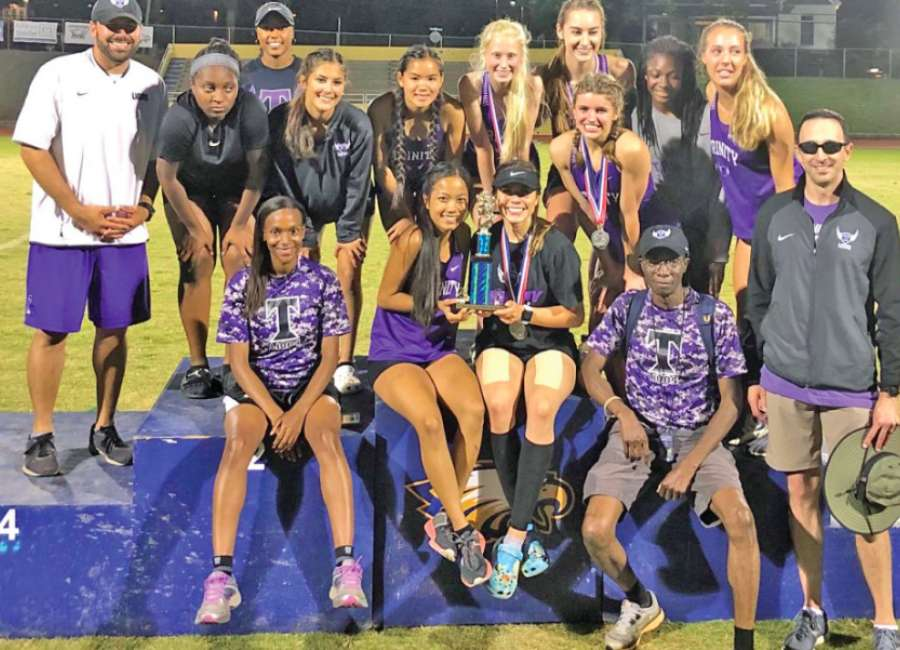 Trinity lineups place 2nd, 3rd while earning state qualifying efforts