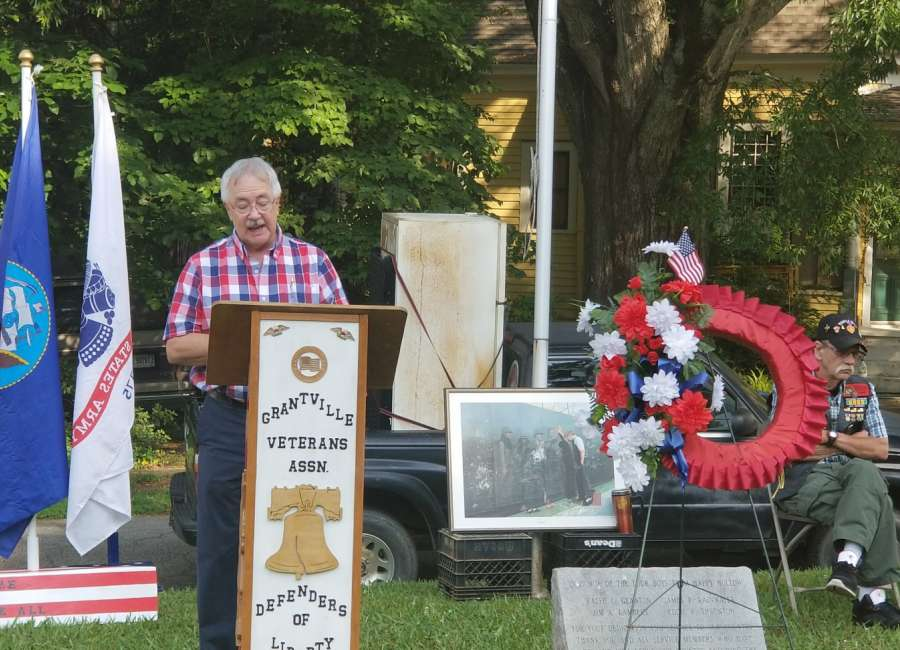 Veteran reflects on meaning of Memorial Day