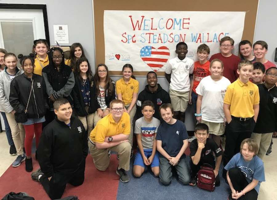 Veterans celebrated at Odyssey Charter