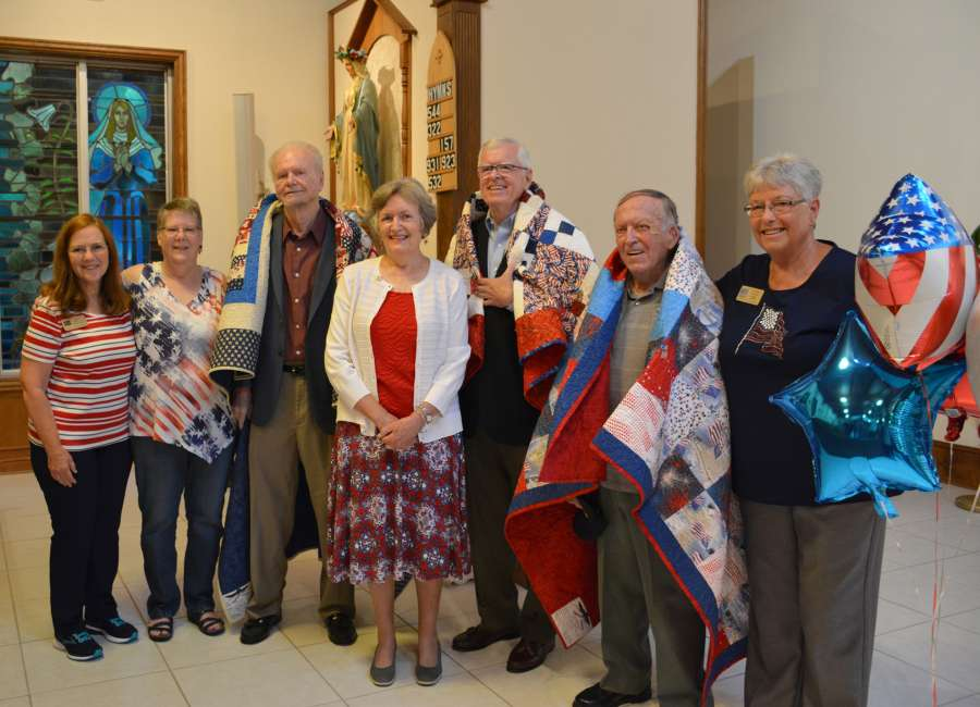 Veterans receive quilts at St. George
