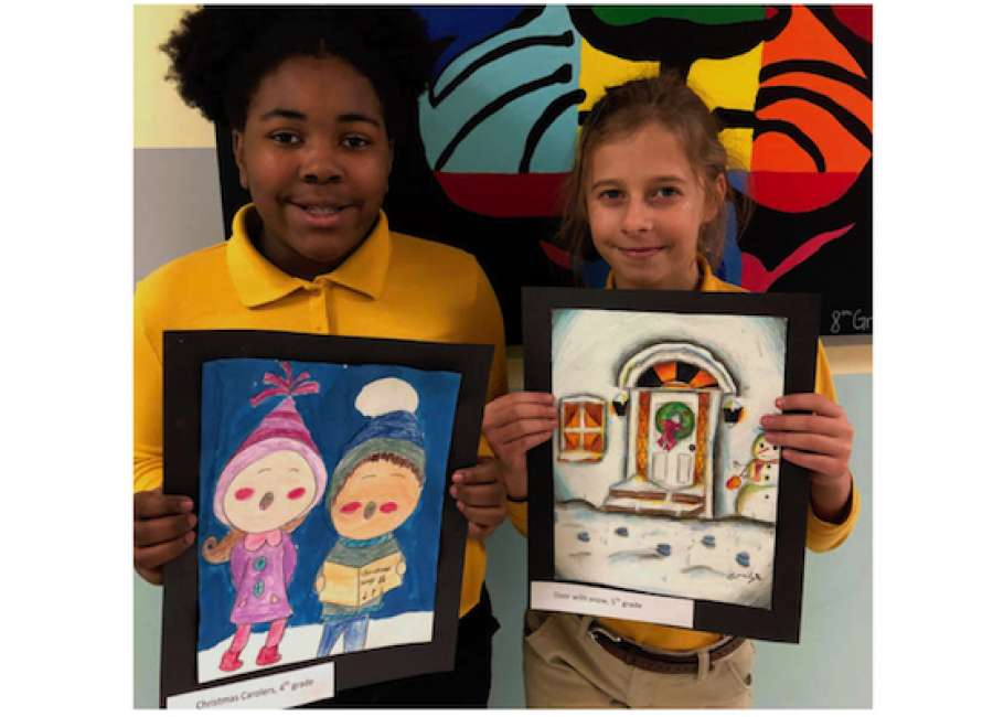 Walker, Harris win Odyssey holiday art contest