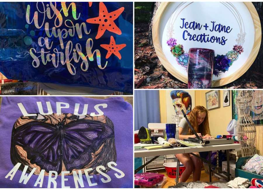 18-year-old business owner creates for change
