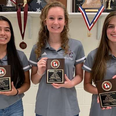 All-State Rifle Team members prepare for new season at ECHS