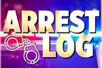 Arrest Log: Aug 24 - Aug. 30