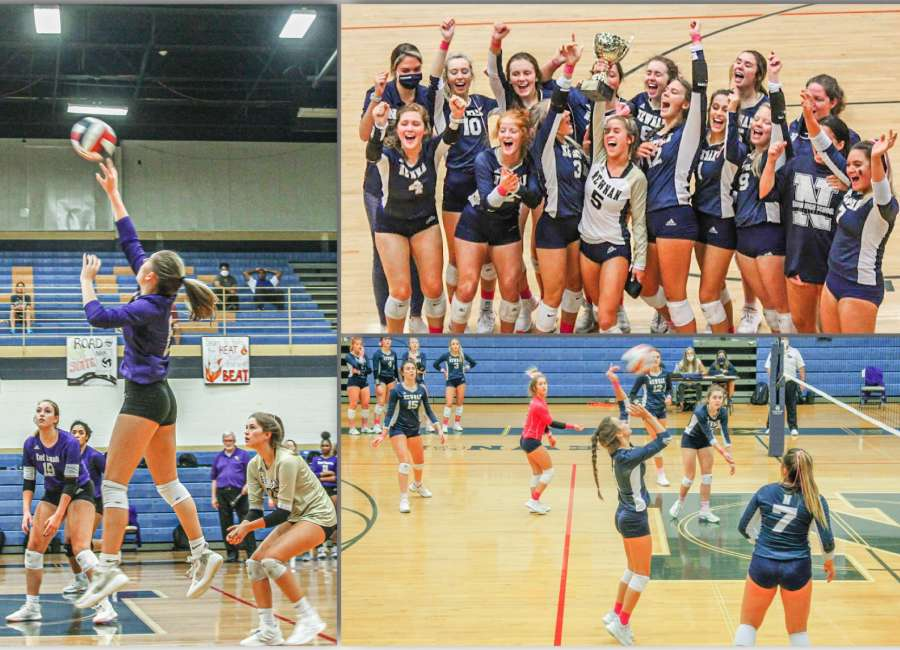 Back to Back: Lady Cougars volleyball wins region championship for second season in a row
