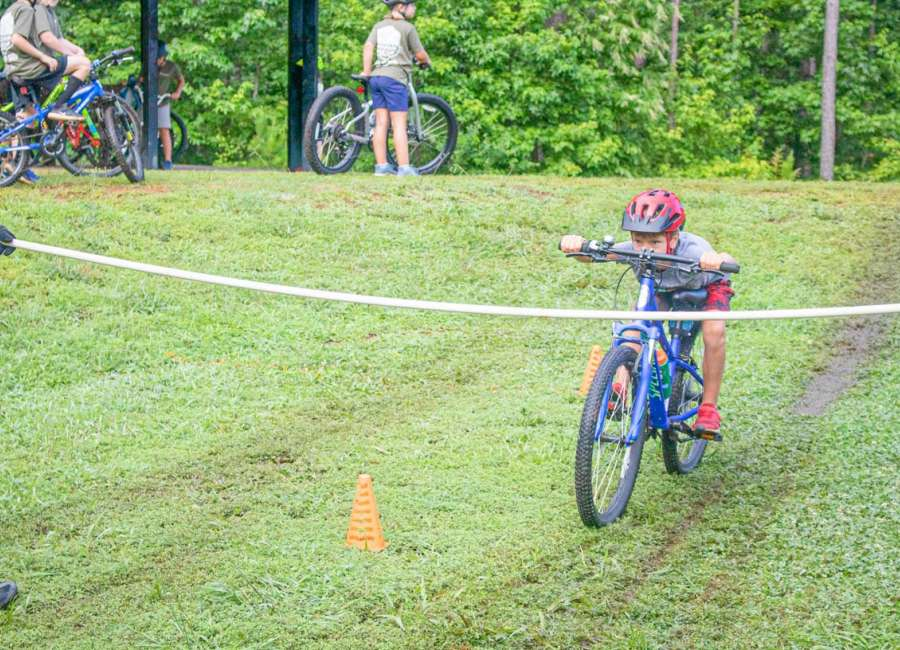 Bike Coweta holds camp for the perfect socially distant sport