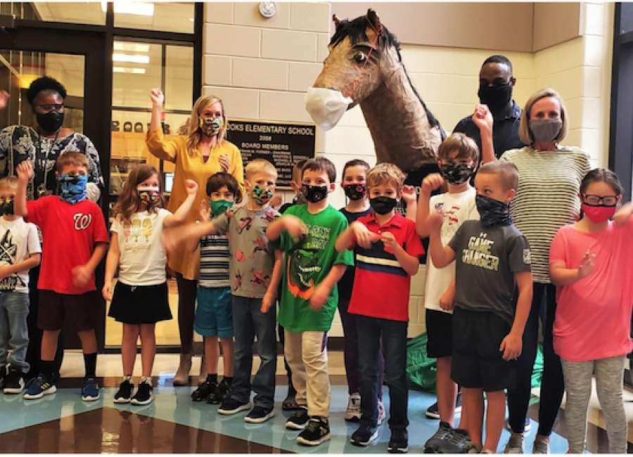 Brooks Elementary named national Blue Ribbon School