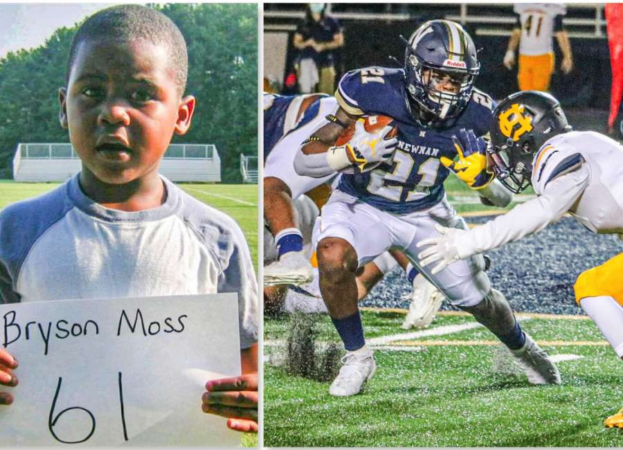 Bryson Moss: faith, family and football