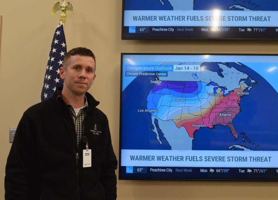 Burgess named Emergency Management coordinator