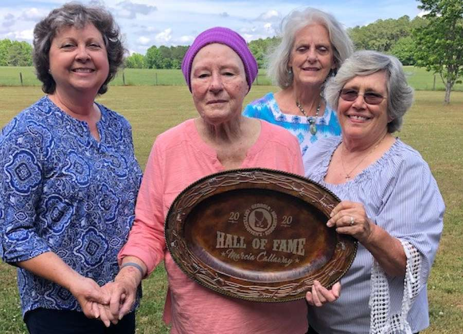 Callaway inducted into Georgia Cattlewomen's Hall of Fame
