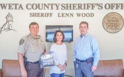 Calls down, donations up at CCSO