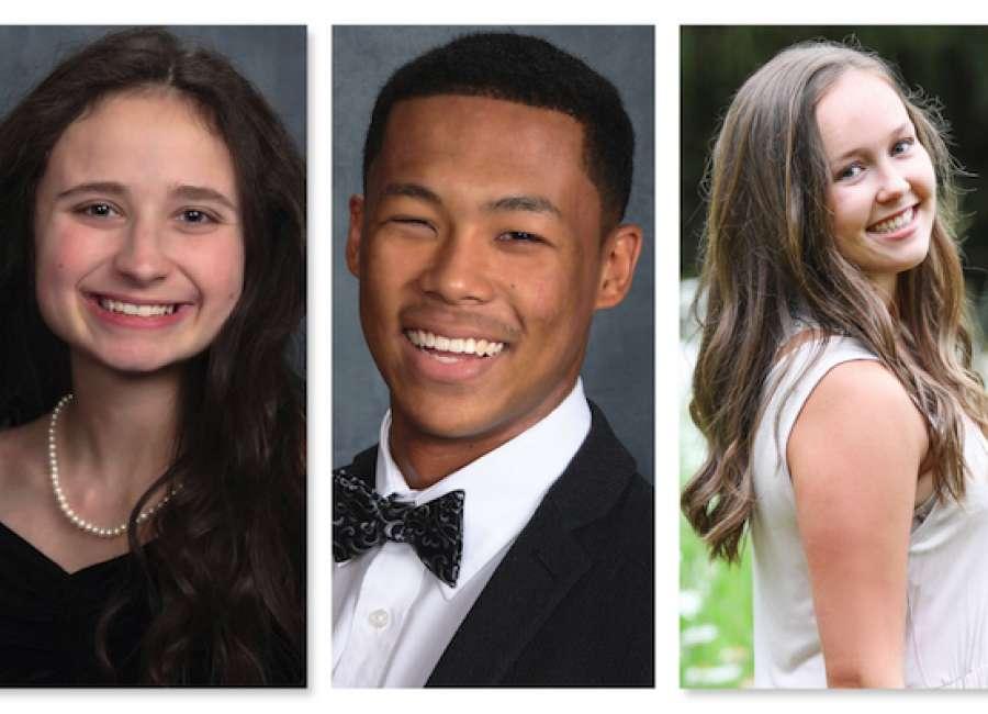 CARE awards scholarships to three graduates