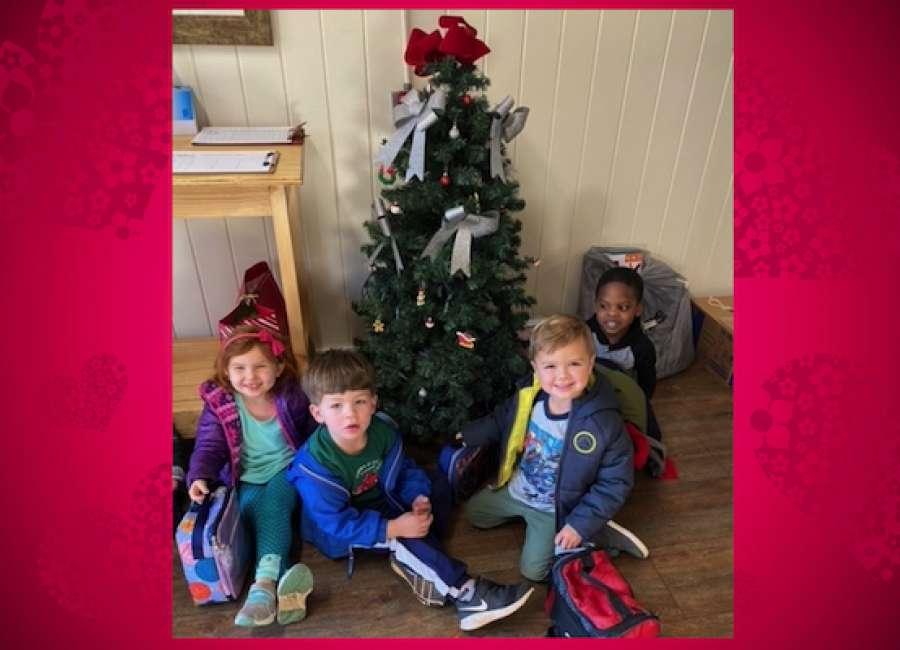 CBMS provides Christmas gifts for 29 children