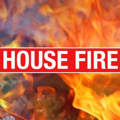 CCFR: Elderly man killed in house fire