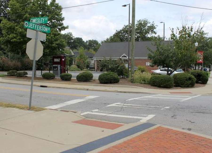 City looking at options for Wesley-Jefferson street intersection