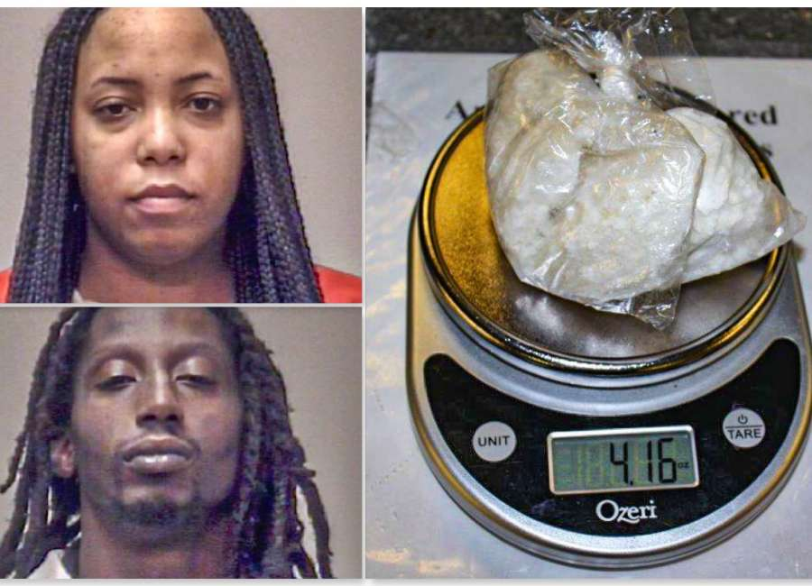 Cocaine and cash found during traffic stop