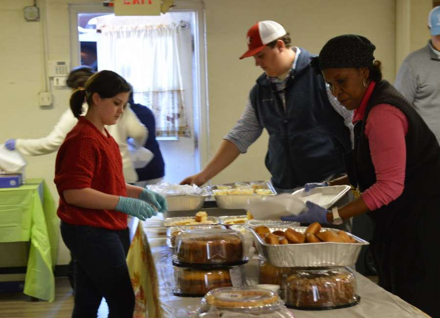 Community meal Thursday; outreach Wednesday